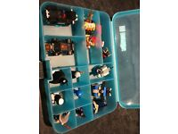 LEGO DIMENSIONS CASE AND CHARACTERS