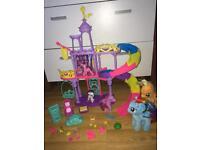 My Little Pony Castle bundle includes unicorn ponies