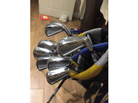 Set of Mizuno MP30 golf clubs