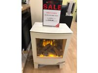 Banff ivory Electric Stove