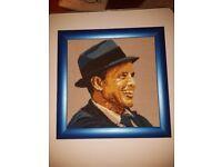Frank Sinatra Woollen Tapestry