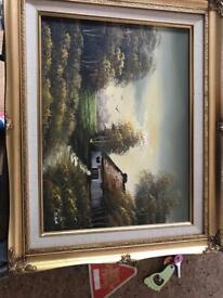 Malbas original oil painting