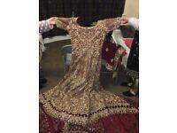 Pakistani 3 peice wedding dress