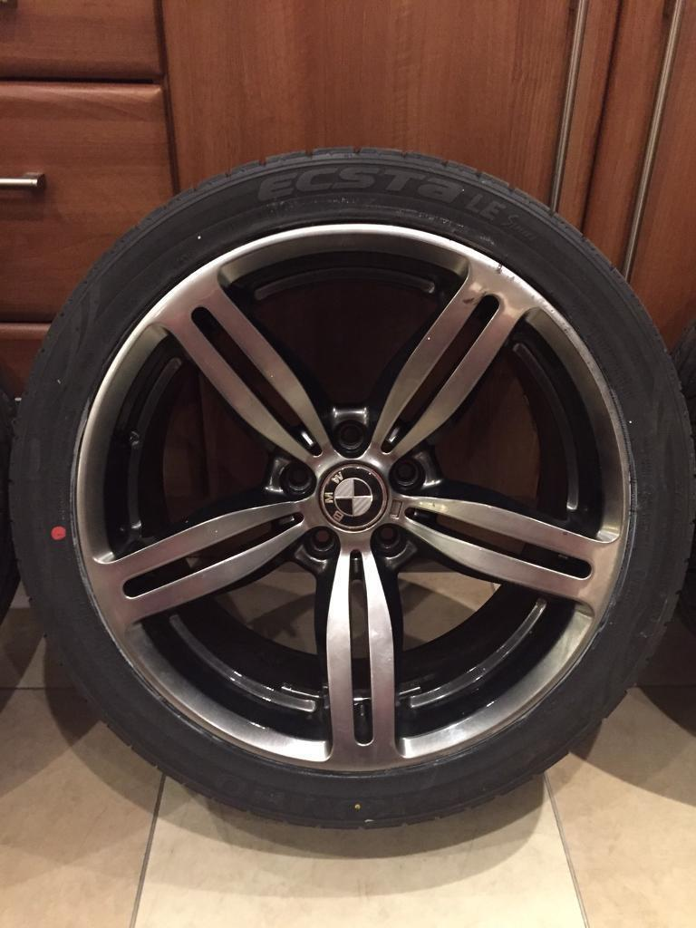 Bmw 19 Quot Alloy Gun Metal Grey M6 Alloy Wheels In