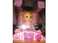 Brand new Baby wow Emma doll