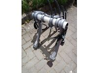 Saris Bones 3 Bike Boot Rack and Hatch Huggers
