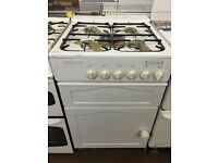 55CM WHITE LESUIRE GAS COOKER
