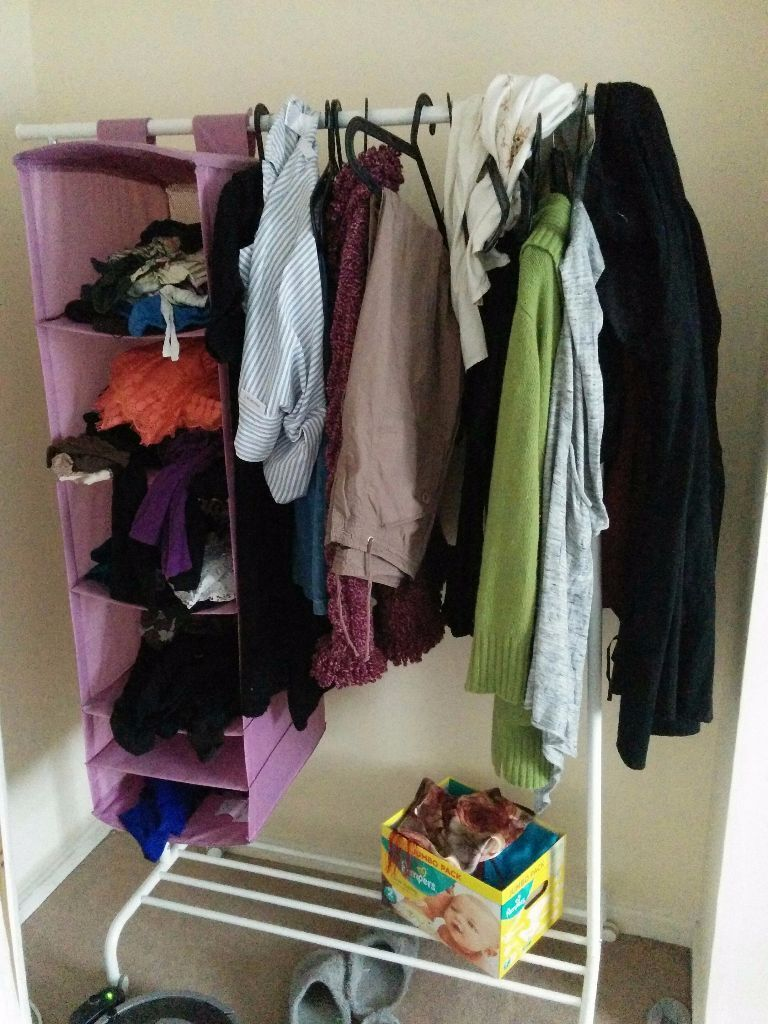 Clothes rack and storage Ikea RIGGA and SKUBB in Marston, Oxfordshire Gumtree