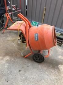 Belle cement mixer 110v - needs repairing...