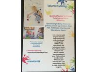 Experienced primary teacher available for tutoring and home schooling