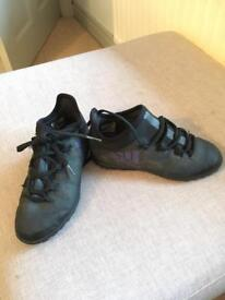 Size 13 Football moulded stud football boots & 1 x pair of Adidas Astro turf Football boots