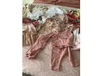 Baby girls clothes 6-9 months.