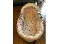 Joules MadHatter Moses Basket