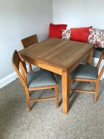 SOLD Laura Ashley Extendable Table and Chairs