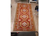 ANTIQUE CAUCASIAN ARMENIAN Carpet / Rug 60 years old Excellent Condition Hand Stitched!!