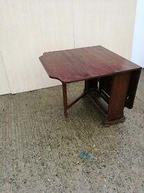 Fold Down Gateleg Dining Table