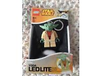 Lego Star wars Yoda key ring Ledlite new boxed