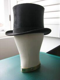 Antique Silk Top Hat, possibly around 1910