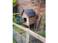 Chicken house sturdy collection only