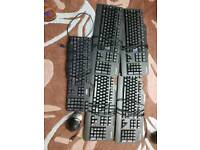 computer key board and mouse for sale