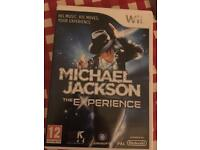 Nintendo Wii Game ~ MJ The Experience