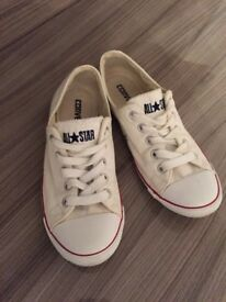 Converse dainty size uk 4 (small would fit a 3)