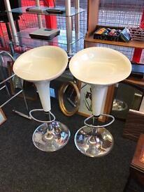 2 x cream stools