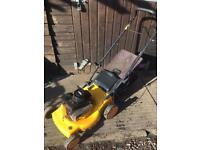 JCB petrol self drive lawnmower