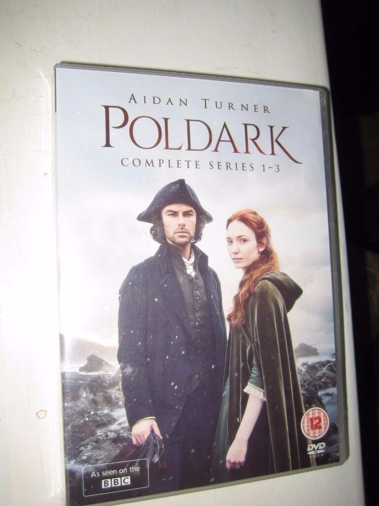Poldark DVD Box Set Complete Series 1, 2 and 3 New and Sealed | in ...