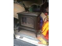"""Solid fuel burner 18""""x11""""x14"""" height approx"""