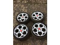 Ford Focus St ( Four Stud ) 18'inch Alloy Wheels