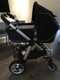 ICANDY APPLE 3 in 1 Travel System Pram- Excellent condition