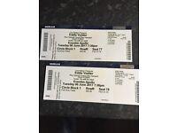 2 x Eddie vedder tickets , 6 June 2017 , eventim apollo