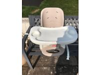 Fisher Price Space Saving High Chair (Invergowrie)