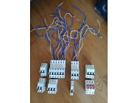 Electrical Supplies - MK Sockets / Crabtree MCB's - RCBO's & Main Switch