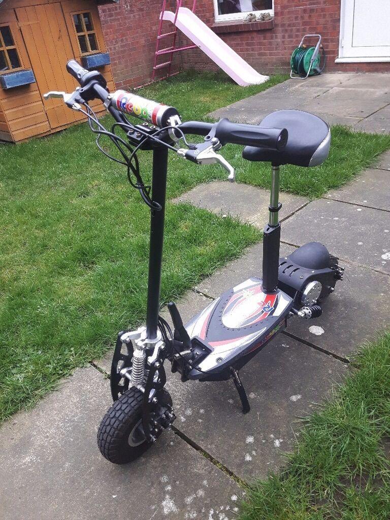 adults rebo 1000w electric scooter 36v battery 2 keys. Black Bedroom Furniture Sets. Home Design Ideas