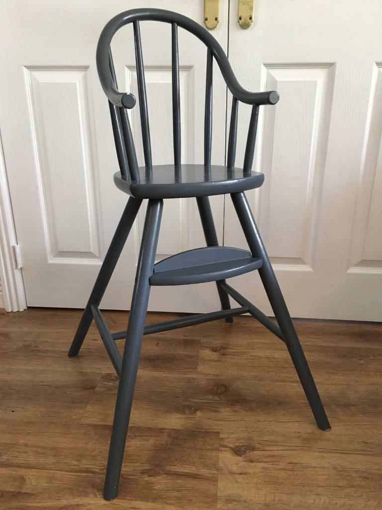 ikea wooden high chair gulliver in coalville leicestershire gumtree. Black Bedroom Furniture Sets. Home Design Ideas