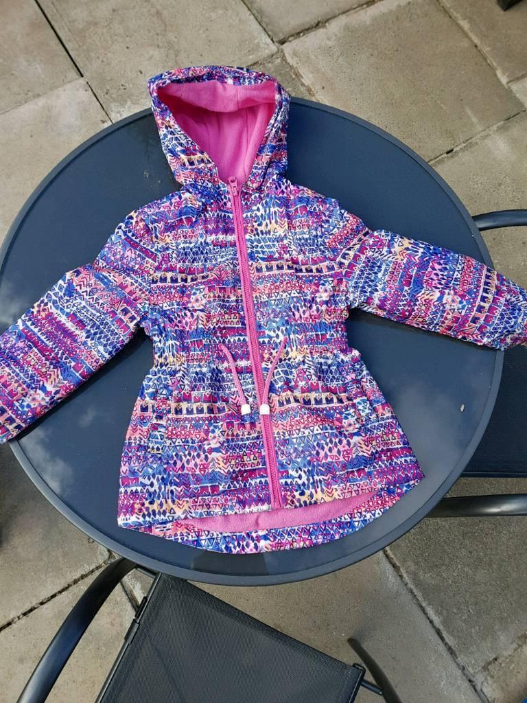 Shower resistant jacket