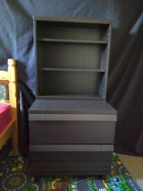 Drawers and Bookcase