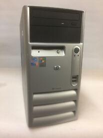HP Computer - Intel Processor, 1GB RAM, 80GB Hard Drive, Win XP & Office