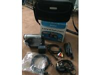 Sony Camcorder Digital 8 (DCR-TRV285E) PAL UK with Original Sony Recording Cassettes