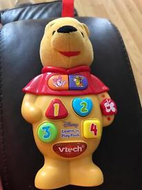 Vtech Winnie the Pooh interactive toy