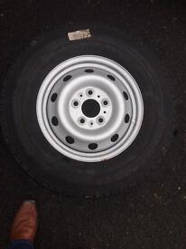 Spare wheel and tyre fiat Ducato