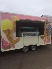14FT ICE CREAM TRAILER