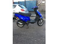 Tgb 202 50cc scooter will have full mot and v5