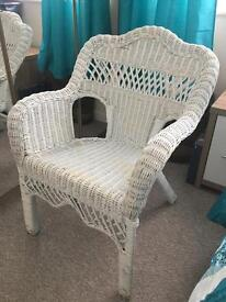 Basket chair £10