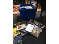 DVDs/Xbox games