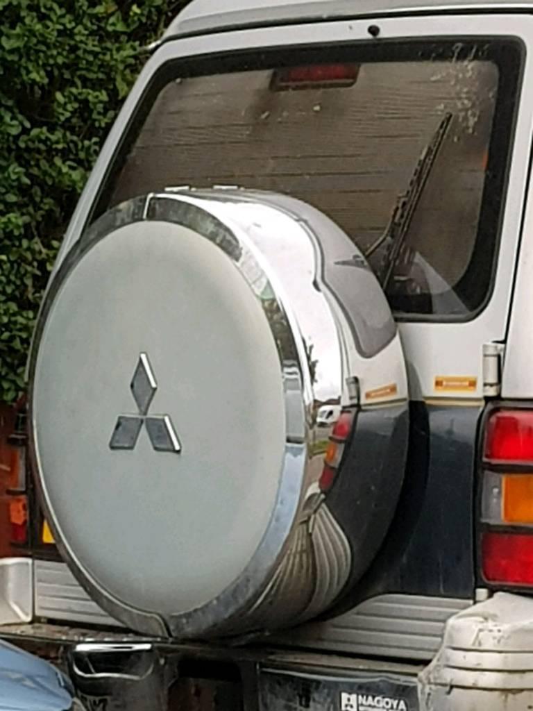 Mitsubishi Pajero / Shogun MK2 Rear Spare Wheel Cover   in Birkenhead,  Merseyside   Gumtree