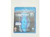DVD 3D FILM MOVIE BLURAY SANCTUM 3D BLU-RAY & DIGITAL COPY JAMES CAMERON 2011.⭐️