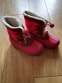 Size 11 Girls Snow Booots